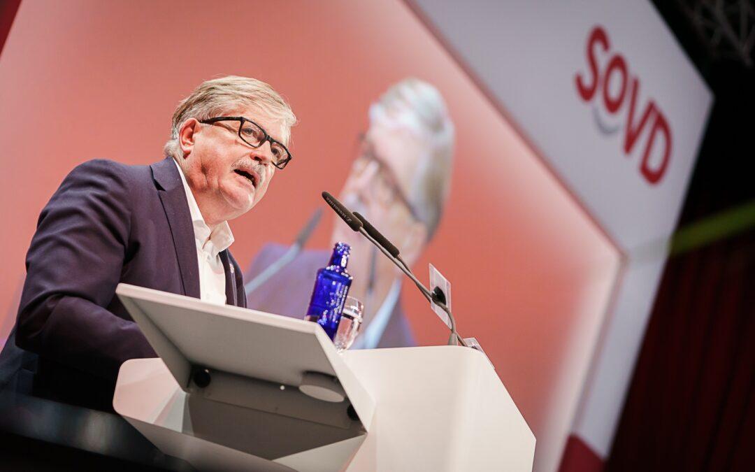 Alfred Bornhalm neuer SoVD-Landesvorsitzender